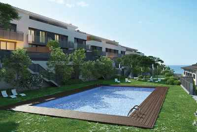New townhouses with a swimming pool 20 minutes from Barcelona
